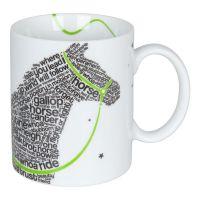 Кружка Koenitz «Шрифт лошадь» 11 1 002 2305