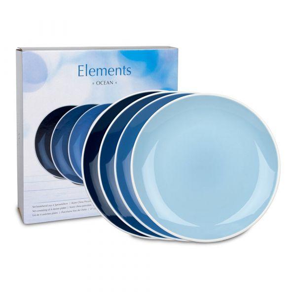 Набор 4-х больших тарелок 'Океан' WAECHTERSBACH 41 5 974 5000