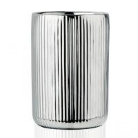 Стакан для зубных щеток ANDREA HOUSE Silver Ceramic BA68083