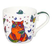 Кружка 'Разноцветные животные - кошки' Koenitz 11 2 057 2288