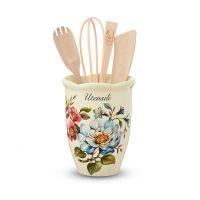 Емкость для кухонных принадлежностей Petali di Primavera Nuova Cer 7372-PDP