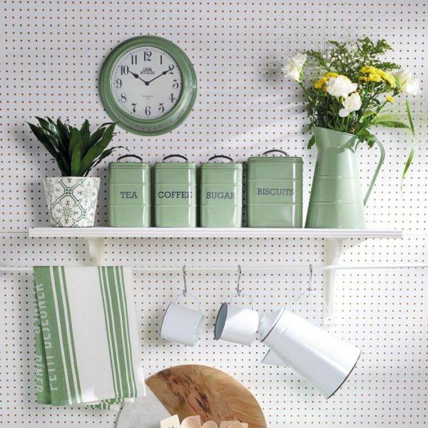 Ёмкость для сахара KITCHEN CRAFT Living Nostalgia цвет зеленый LNSUGARGRN