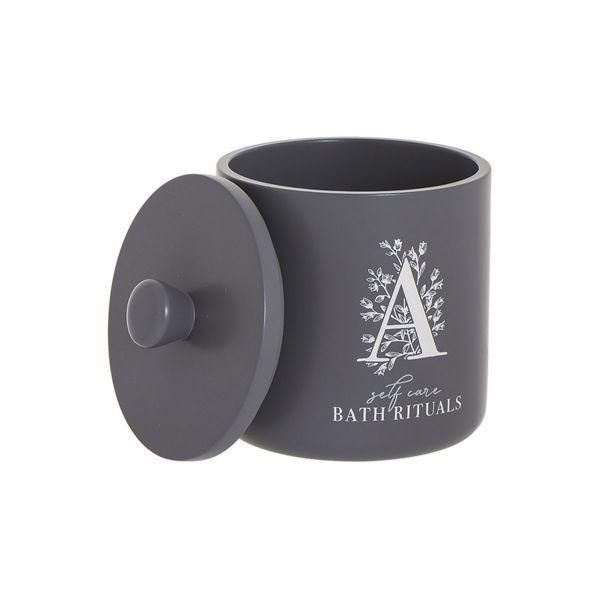 Стакан для ватных дисков Bath Rituals серый