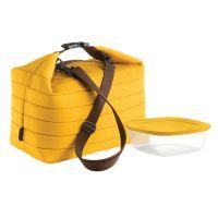Набор термосумка+контейнер handy большой жёлтый 32903165