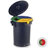 Бак с педалью для раздельного сбора мусора Faplana ECO 52л 777.23040