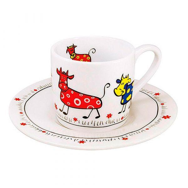 Кофейная пара эспрессо 'Парад коров' Koenitz 11 5 053 0213
