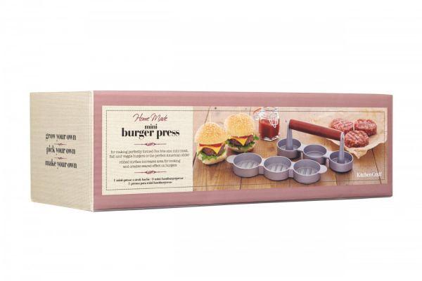 Мини-пресс для гамбургеров KITCHEN CRAFT Home Made KCHMMINIPRESS