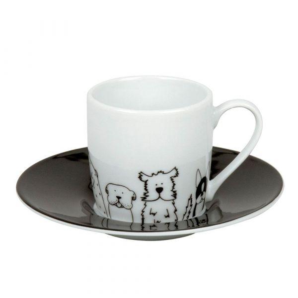 Кофейная пара эспрессо 'Забавные собаки' Koenitz 11 5 053 2076