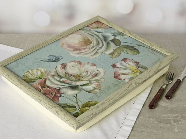 Поднос с подушкой Romantic Garden KITCHEN CRAFT LT3017