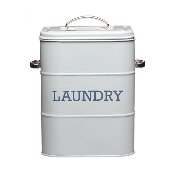 Корзина для хранения стиральных принадлежностей Living Nostalgia Grey KITCHEN CRAFT LNLAUNDRYGRY