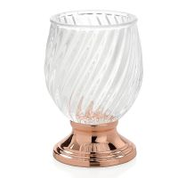 Стакан для зубных щеток ANDREA HOUSE Luxe Glass and Copper BA16103