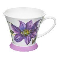 Кружка Фиолетовый клематис Rose of England HAM.SOC.1