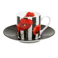 Кофейная пара эспрессо 'Madame Petite - полосы' Koenitz 11 5 053 2168