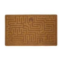 Коврик придверный Balvi Labyrinth коричневый 26779