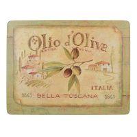 Набор 6 подставок Olio D Oliva 22,8x30 Creative Tops 5169668