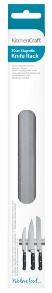 Рейлинг для ножей KITCHEN CRAFT магнитный 30 см KCCARACKSML