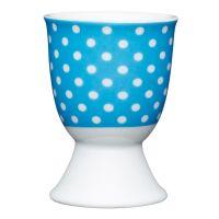 Подставка для яйца Blue Polka Dot KITCHEN CRAFT KCEGGPOLKABLU