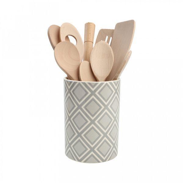 Ёмкость для хранения кухонных принадлежностей T&G 11,5x16,5 см 18404