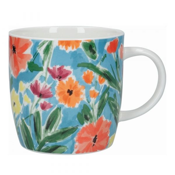 Кружка Abstract floral KITCHEN CRAFT KCMBAR166