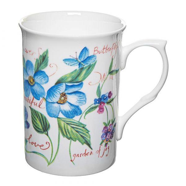Кружка Голубое поле Rose of England BUX.J.1