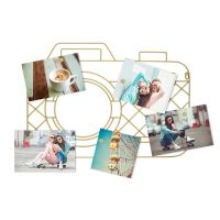 Держатель для фотографий Balvi Memory Cam магнитный золотой 26865