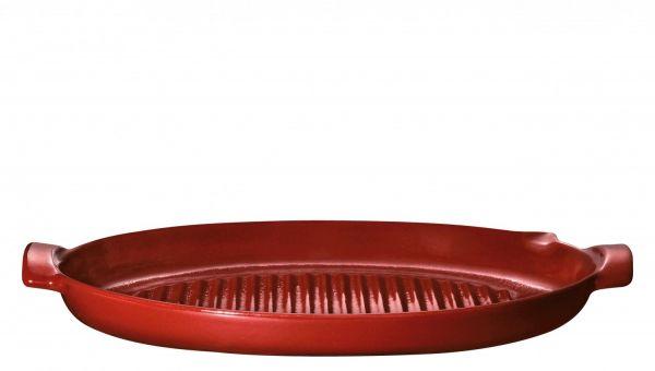 Барбекю-гриль для рыбы 50x28 см Emile Henry красный 347544