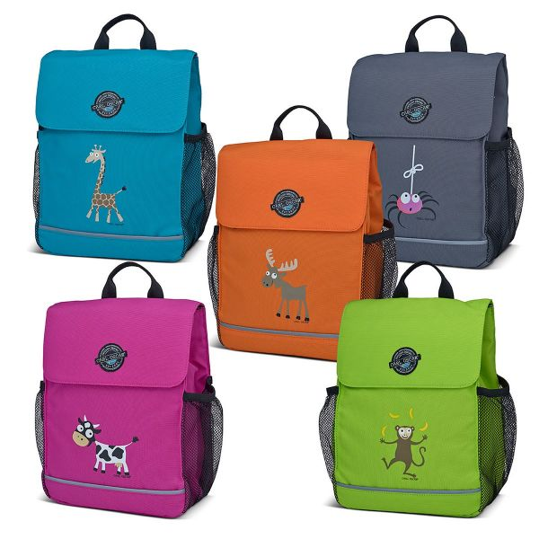 Рюкзак детский Carl Oscar Pack n' Snack™ Giraffe бирюзовый 109403