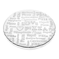 Блюдо IVV I love pizza 7451.1