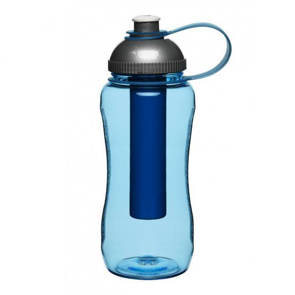 Бутылка для воды SAGAFORM с охлаждающим элементом 500 мл цвет синий 5016294