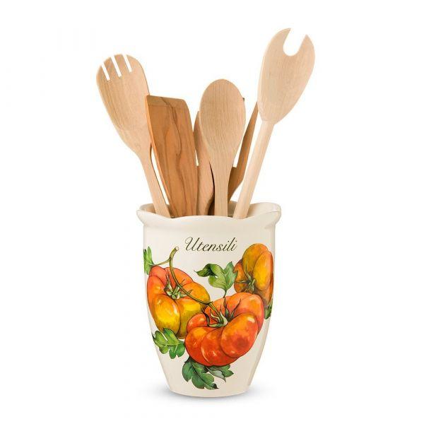 Емкость для кухонных принадлежностей Mercato della Terra Nuova Cer 7372-MDT