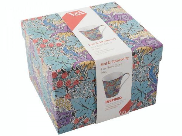 Кружка Bird and strawberry V&A KITCHEN CRAFT 5150999