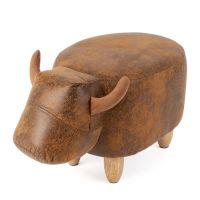 Пуф Balvi La Vache дизайнерский коричневый 26935