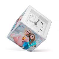 Держатель-часы для фотографий Balvi Photo-Clock вращающийся 10x10 см 26242