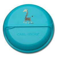 Ланч-бокс для перекусов Carl Oscar BentoDISC™ Giraffe бирюзовый 109703