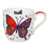 Кружка 'Разноцветные животные - бабочки' Koenitz 11 2 057 2254