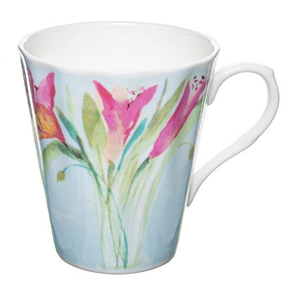 Кружка Розовые тюльпаны Rose of England HER.FFV.2
