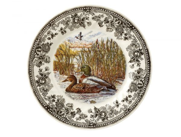 Тарелка обеденная 25 см Quintessential Game Mallard QGAM00011 Churchill