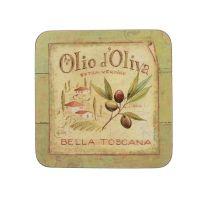 Набор 6 подставок Olio D Oliva 10,5х10,5 Creative Tops 5169653