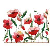 Набор из 6 подставок Watercolour Poppy 23х30 KITCHEN CRAFT 5176716