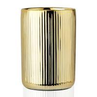 Стакан для зубных щеток ANDREA HOUSE Gold Ceramic BA68093