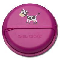 Ланч-бокс для перекусов Carl Oscar BentoDISC™ Cow фиолетовый 109702