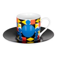Кофейная пара эспрессо 'Баухаус круг' Koenitz 11 5 053 2365