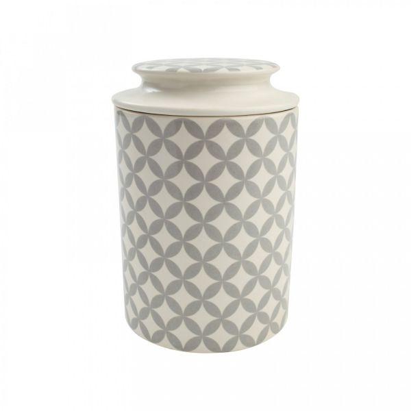 Ёмкость для хранения T&G 10,5x16 см цвет серый 18401