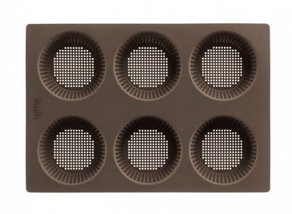 Форма для хлеба Lekue 'Круглые булочки' силиконовая 0202300М10M017