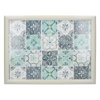 Поднос с подушкой Green Tile Creative Tops C000325