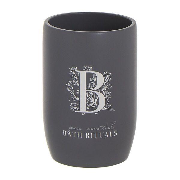 Стакан для зубных щеток Bath Rituals серый