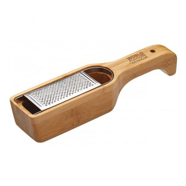 Терка для пармезана Kitchen Craft World of Flavours Bamboo ICBGRATE