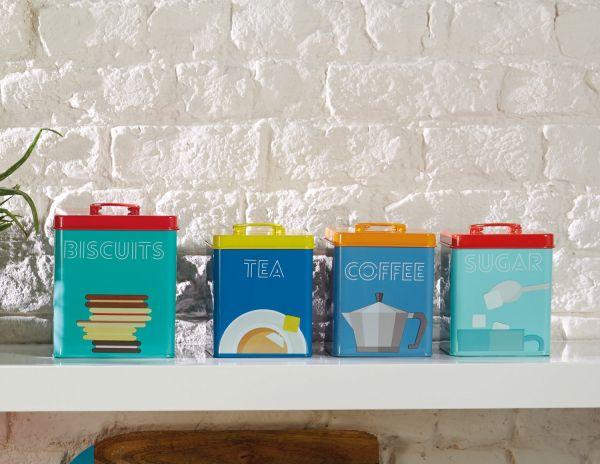 Ёмкость для хранения чая Bright Storage KITCHEN CRAFT KCPTTEA
