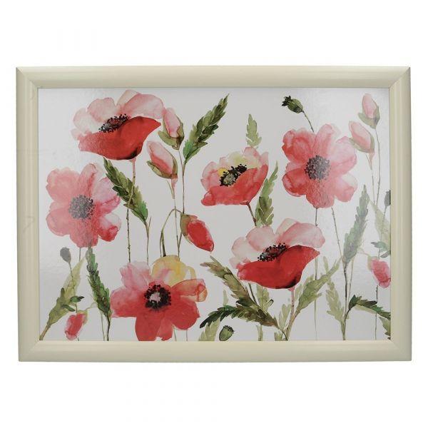 Поднос с подушкой Watercol Poppy Creative Tops 5233429