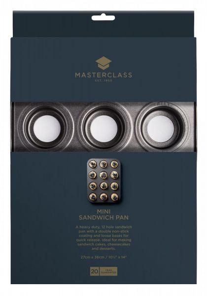 Форма для выпечки мини-сендвичей Kitchen Craft MasterClass, KCMCHB96